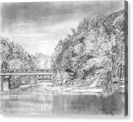 Fineart Canvas Print - Southern Vista by Barry Jones