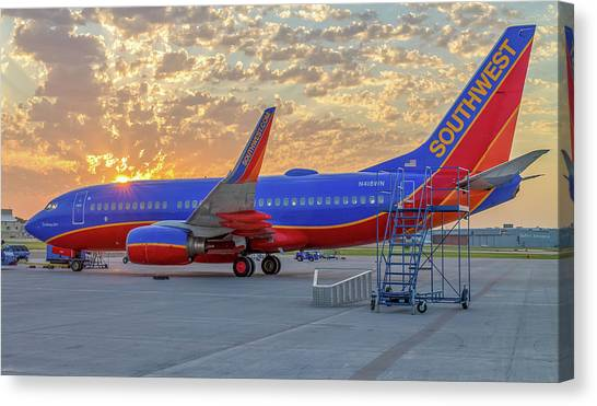 Southwest Airlines - The Winning Spirit Canvas Print