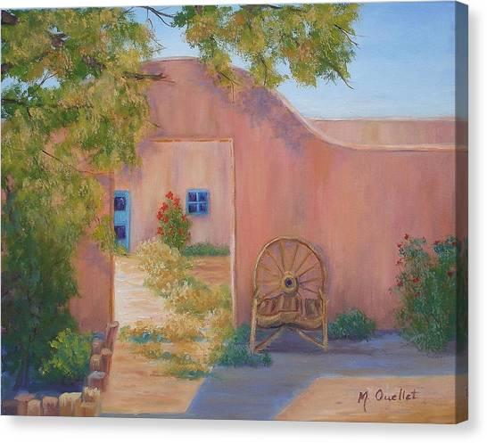 Southwest Canvas Print by Maxine Ouellet