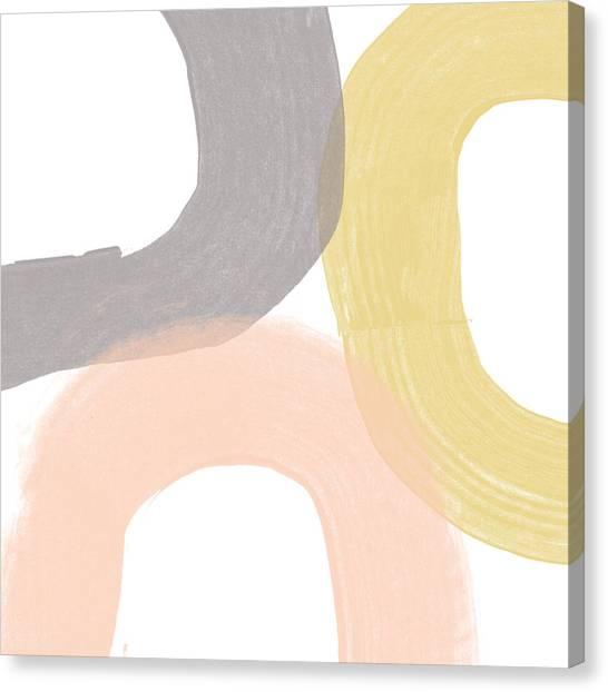 Brush Stroke Canvas Print - Southwest Modern Brushstrokes - Abstract Art By Linda Woods by Linda Woods