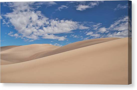 Southwest Sands Of Colorado Canvas Print