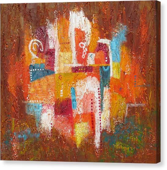Southwest Sunburst Canvas Print
