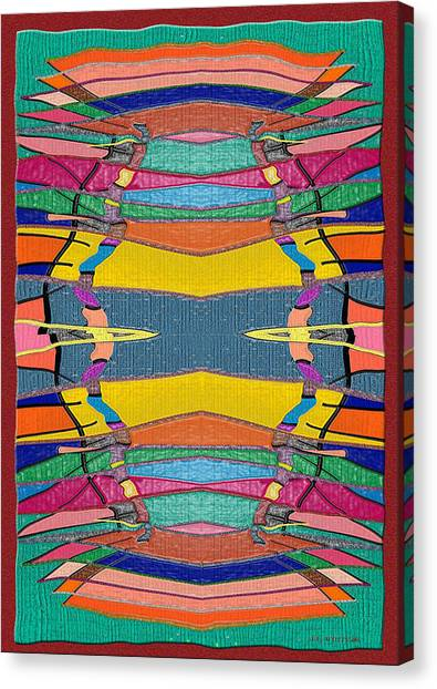 Southwestern Rug Canvas Print by Jerry White