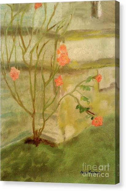 Southwick Hall Rose Canvas Print