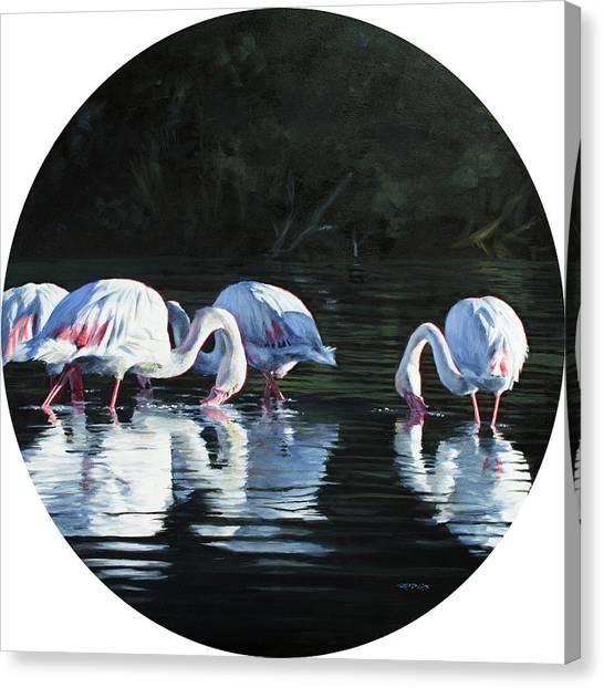 Soutpan Morning Canvas Print