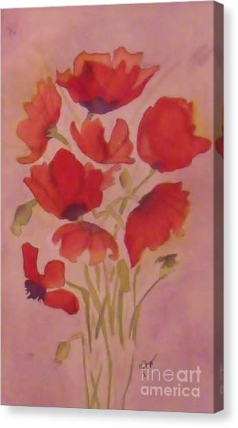Souvenirs Canvas Print by Djl Leclerc