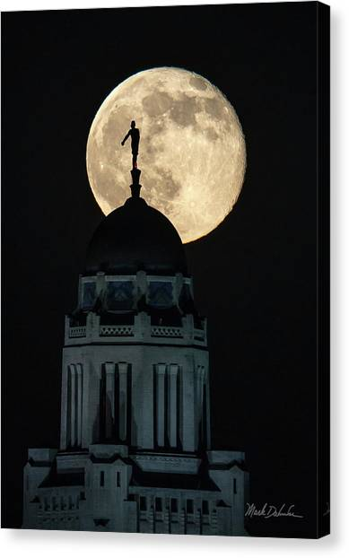 Sower's Moon Canvas Print