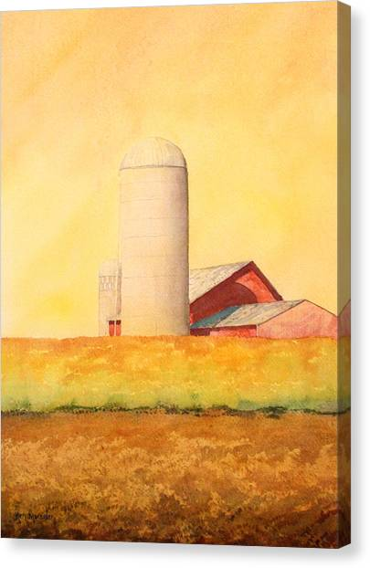 Soybean Field Canvas Print