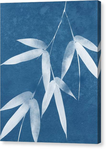 Bamboo Canvas Print - Spa Bamboo 1-art By Linda Woods by Linda Woods