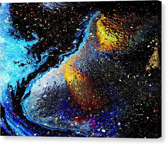 Space Boot Canvas Print