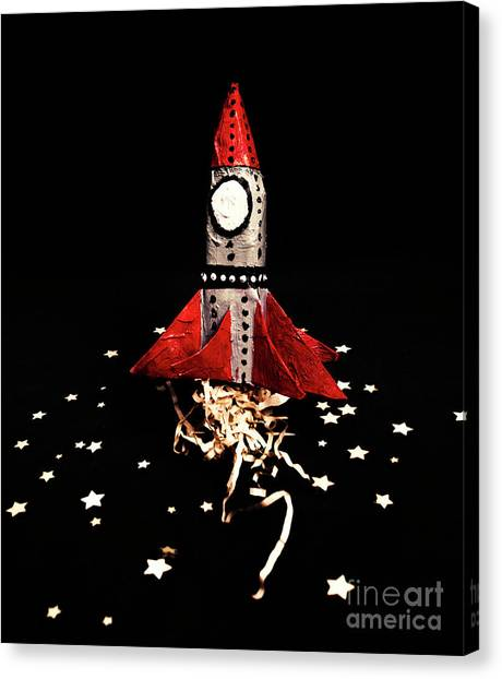 Space Shuttle Canvas Print - Space Craft by Jorgo Photography - Wall Art Gallery