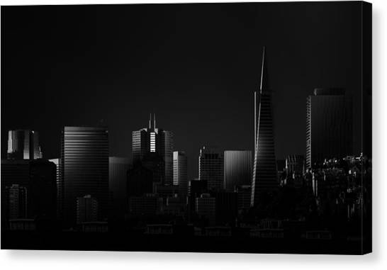 Modern Architecture Canvas Print - Space II by Juan Pablo De