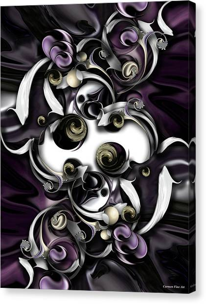 Canvas Print - Space Or Expression by Carmen Fine Art