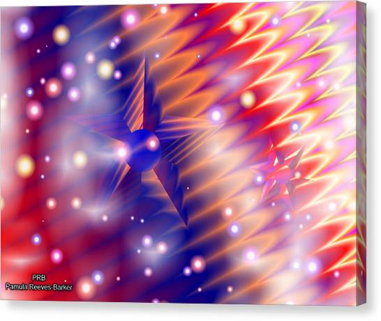 Canvas Print - Space by Pamula Reeves-Barker