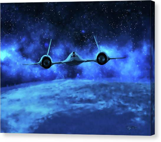 Spaceward Canvas Print
