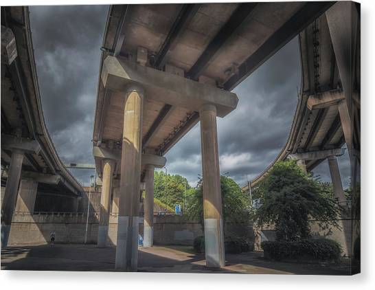Spaghetti Canvas Print - Spaghetti Junction by Chris Fletcher