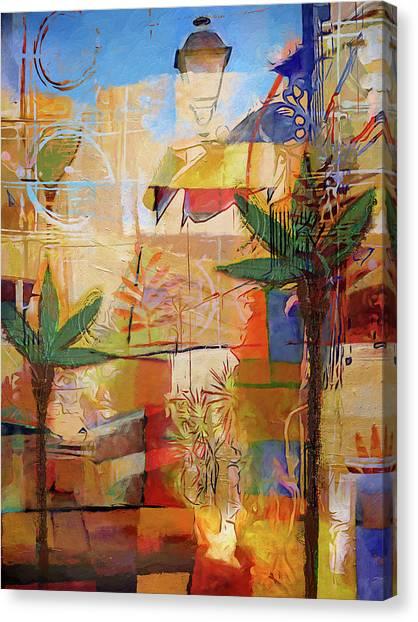 Spain Impression Canvas Print