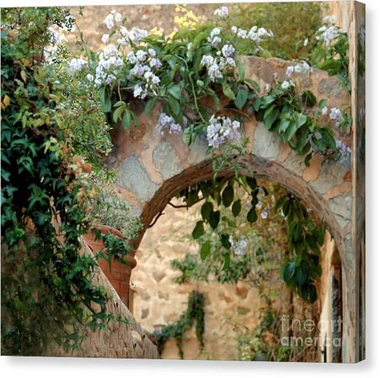 Spanish Archway Canvas Print
