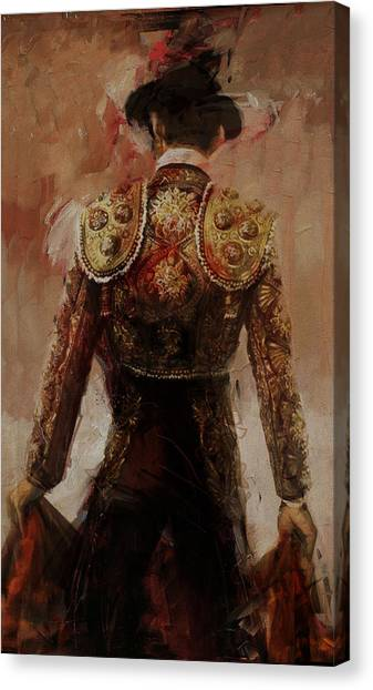 Salsa Canvas Print - Spanish Culture 2 by Corporate Art Task Force