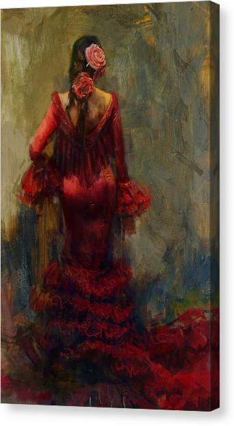 Salsa Canvas Print - Spanish Culture 22 by Corporate Art Task Force