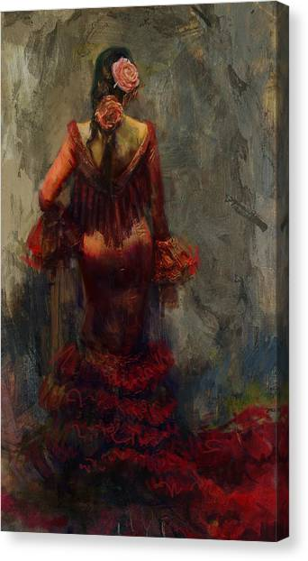 Salsa Canvas Print - Spanish Culture 22b  by Corporate Art Task Force
