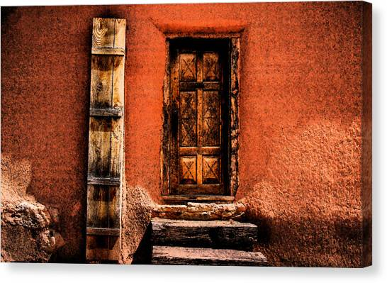 Spanish Door Canvas Print