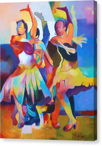 Spanish Harlem Dance Canvas Print
