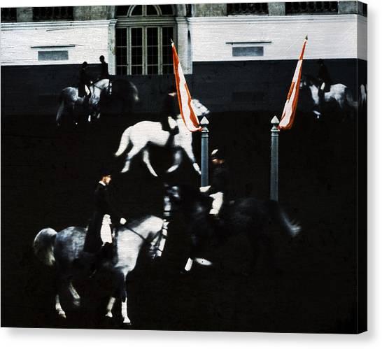 Spanish Riding School Canvas Print