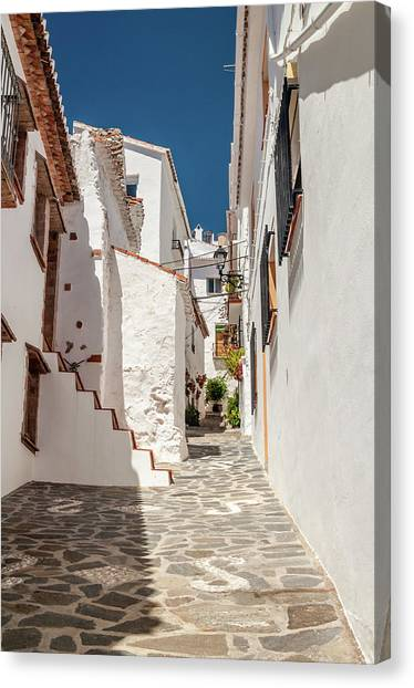 Spanish Street 1 Canvas Print