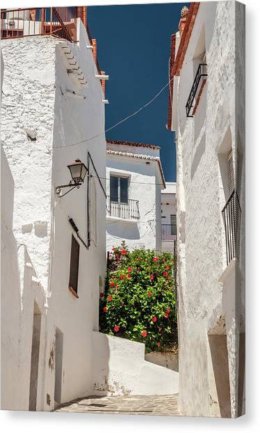 Spanish Street 2 Canvas Print