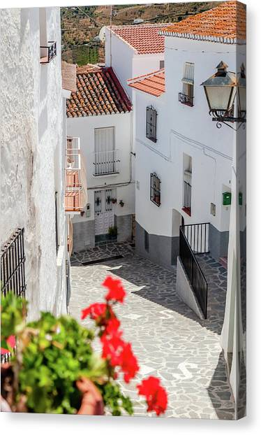 Spanish Street 3 Canvas Print