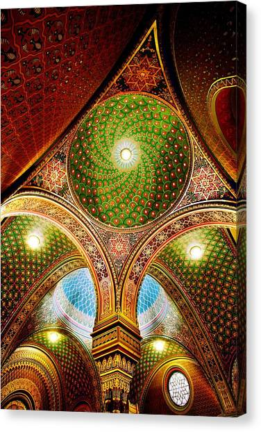 Spanish Synagogue Canvas Print