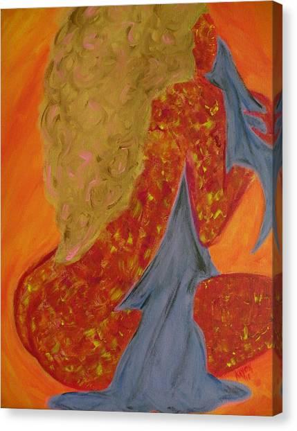 Sparkle Canvas Print by Kayon Cox