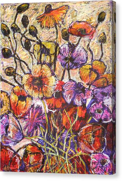 Sparkling Dew Canvas Print