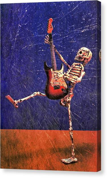Canvas Print featuring the photograph Sparky by Jeff Gettis