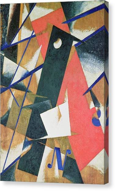 Futurism Canvas Print - Spatial Force Construction by Lyubov Sergeevna Popova