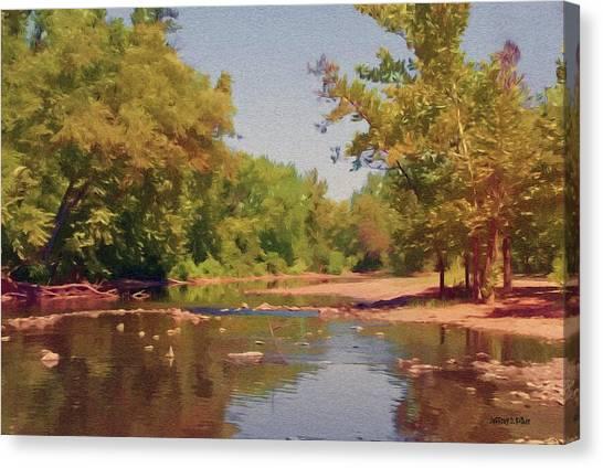 Spavinaw Creek Canvas Print