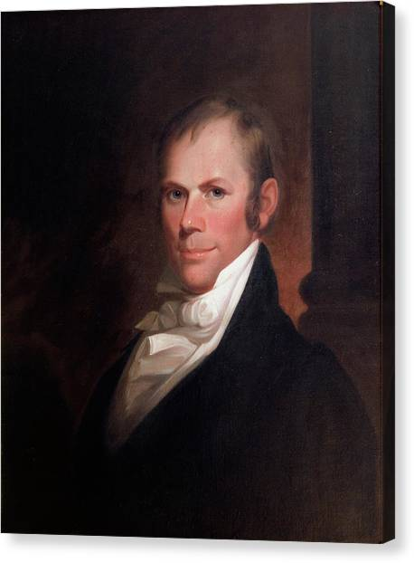 Clay Matthews Canvas Print - Speakers Of The United States House Of Representatives, Henry Clay, Kentucky  by Matthew Harris Jouett