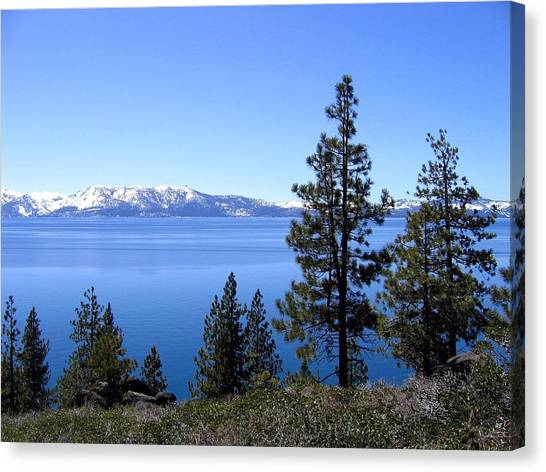 Spectacular Lake Tahoe Canvas Print
