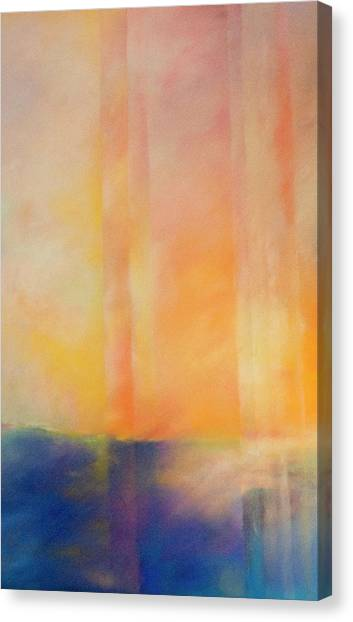 Spectral Sunset Canvas Print
