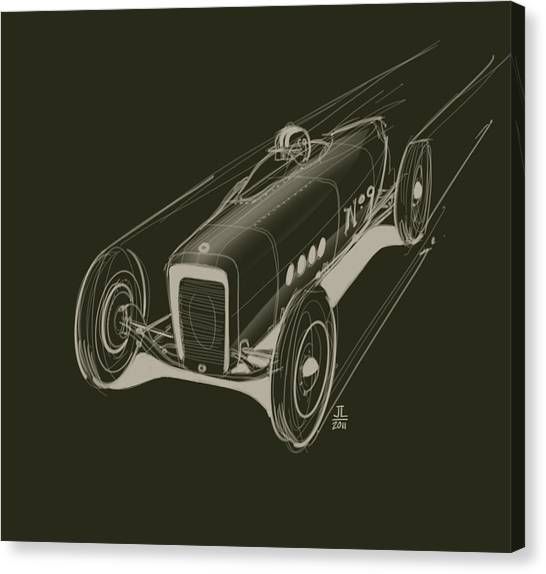 Brakes Canvas Print - Speed by Jeremy Lacy