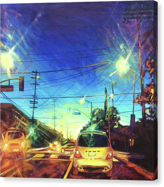 Speed Of Light Canvas Print