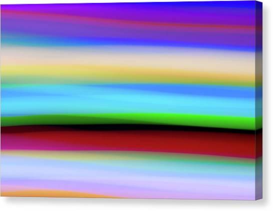 Speed Of Lights Canvas Print