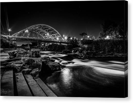 Speer Blvd. Bridge Canvas Print by Richard Raul Photography
