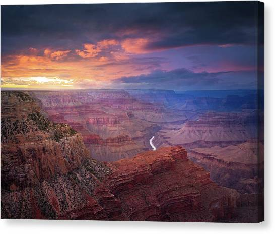 Spendid Light // Grand Canyon National Park  Canvas Print