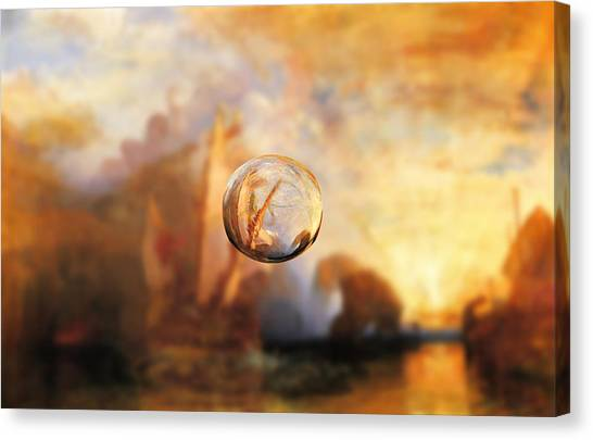 Sphere 11 Turner Canvas Print