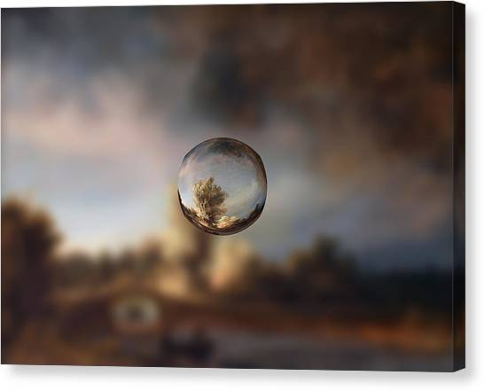 Sphere 13 Rembrandt Canvas Print