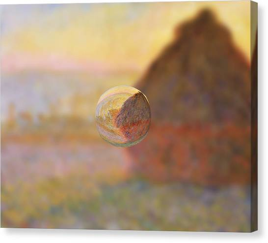 Sphere 5 Monet Canvas Print