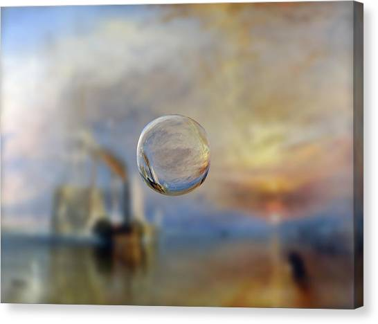 Sphere 6 Turner Canvas Print