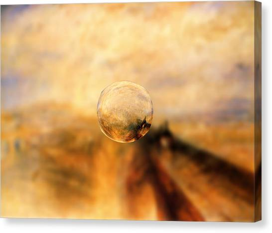 Sphere 8 Turner Canvas Print